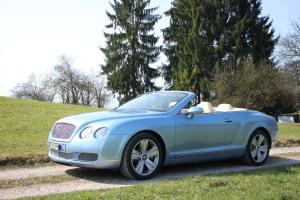 Rent Bentley GTC in Switzerland and Germany